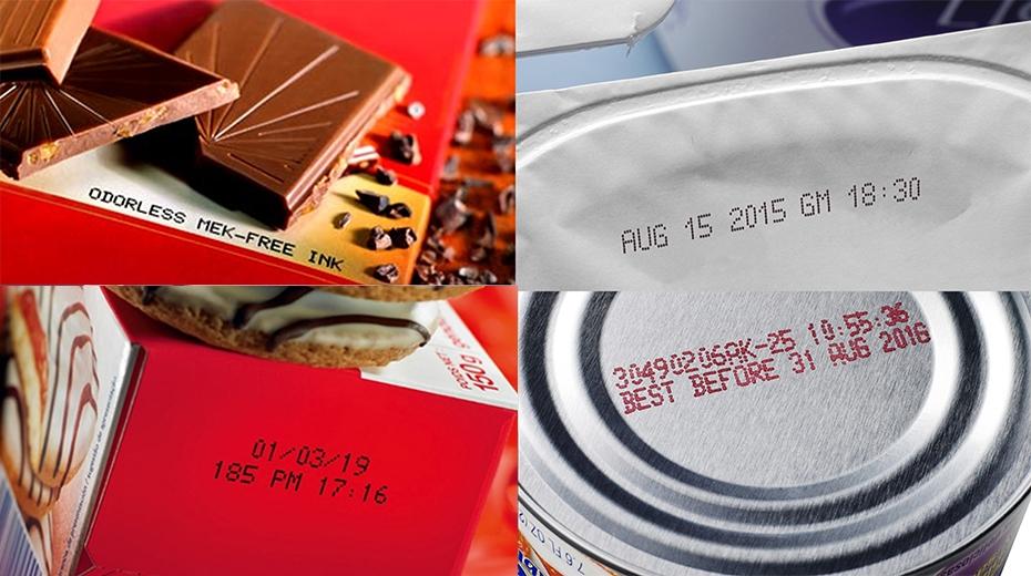 食品金属、纸盒、软包装喷码案例