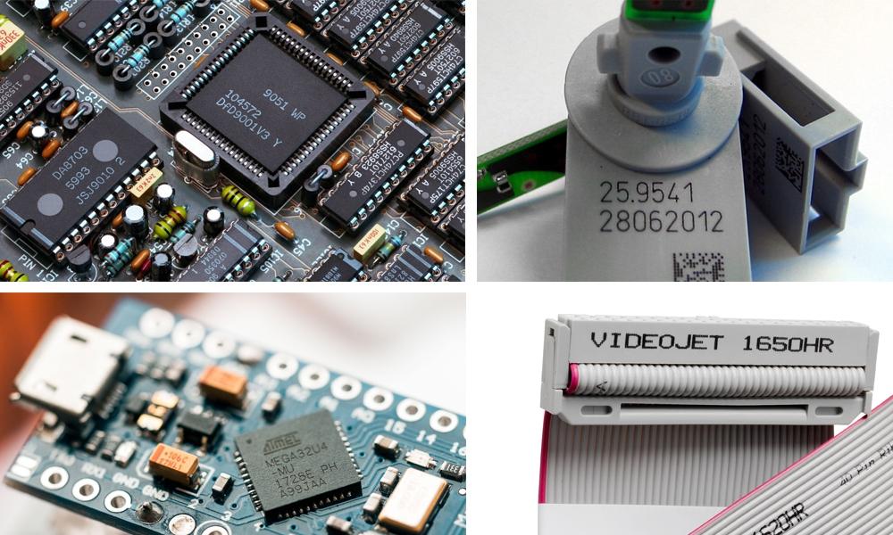 电子行业喷码解决方案